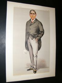Vanity Fair Print 1889 William Cuthbert Quilter
